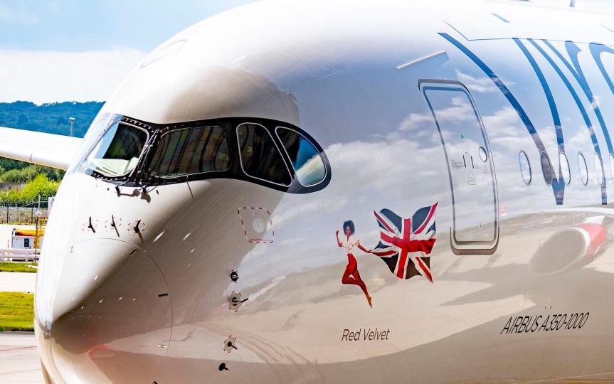 Inmarsat rolls out GX Aviation inflight broadband  on Virgin Atlantic new Airbus A350aircraft