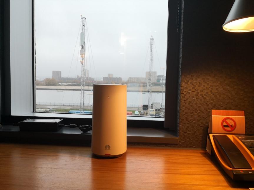 Huawei, Three UK unveil 5G home broadbandcapability