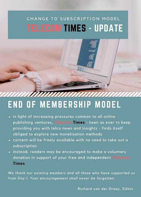 Telecom Times update